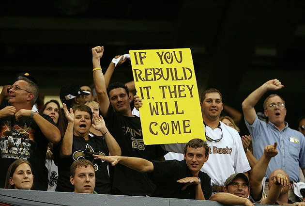 Hurricane Katrina Anniversary: Sports helping New Orleans heal