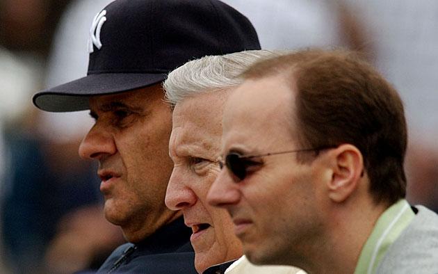 Joe Torre, George Steinbrenner and Brian Cashman, New York Yankees