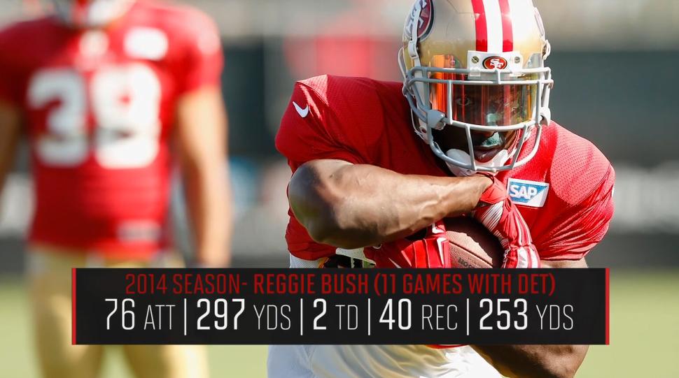 Reggie Bush, 49ers running back