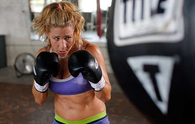Junot, a New Orleans native, won the WBC female junior middleweight title in 2012.