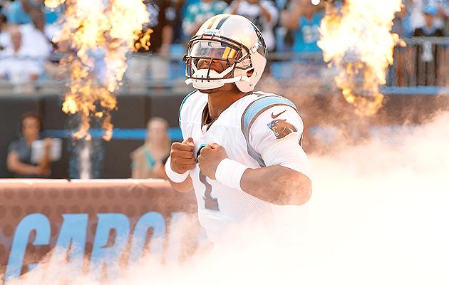 Carolina Panthers' Cam Newton is falling too far on fantasy football draft boards.
