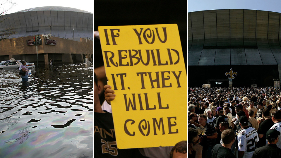 Katrina Remembered: Oral history of New Orleans Saints, Superdome | SI.com