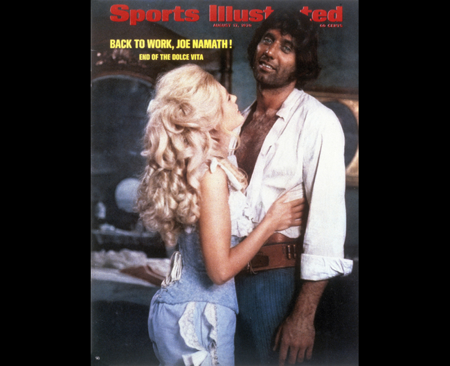 A brief film career landed Namath and Ann-Margret an SI cover. (Larry Spangler Productions/Sports Illustrated)