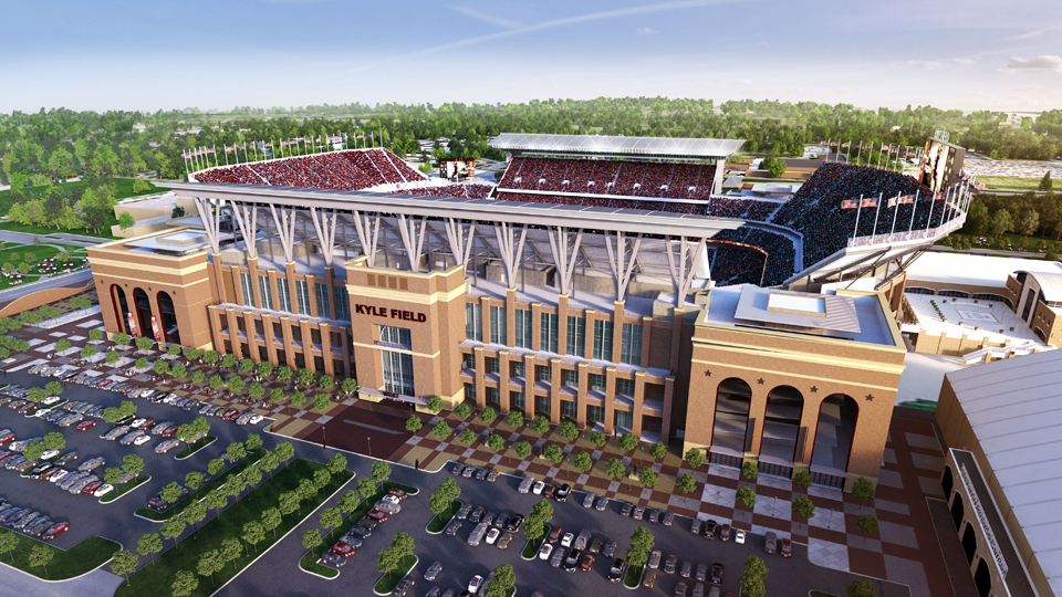 Texas A Amp M S Redone Kyle Field Now Largest In Sec Si Com