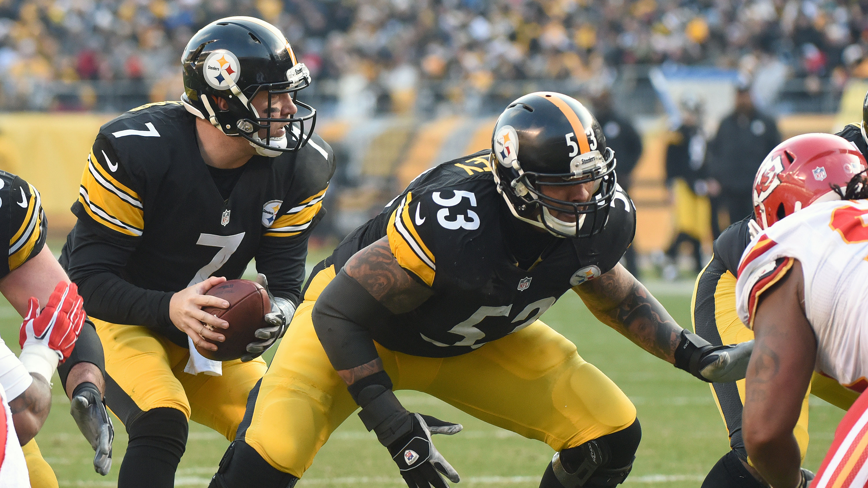 Maurkice Pouncey injury Pittsburgh Steelers C likely out 10 games