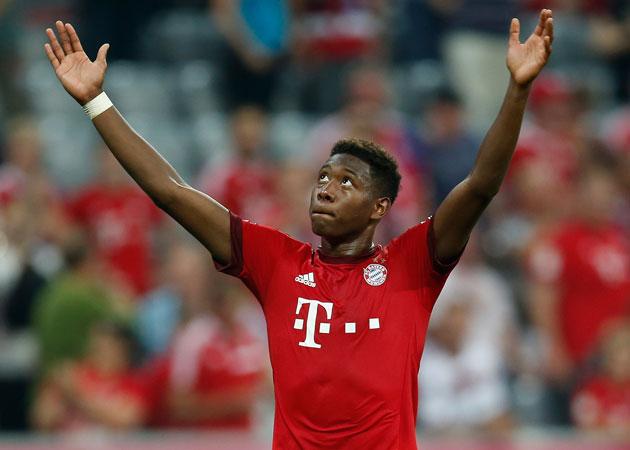 David Alaba starred for Bayern Munich in a 3-0 win over Bayer Leverkusen