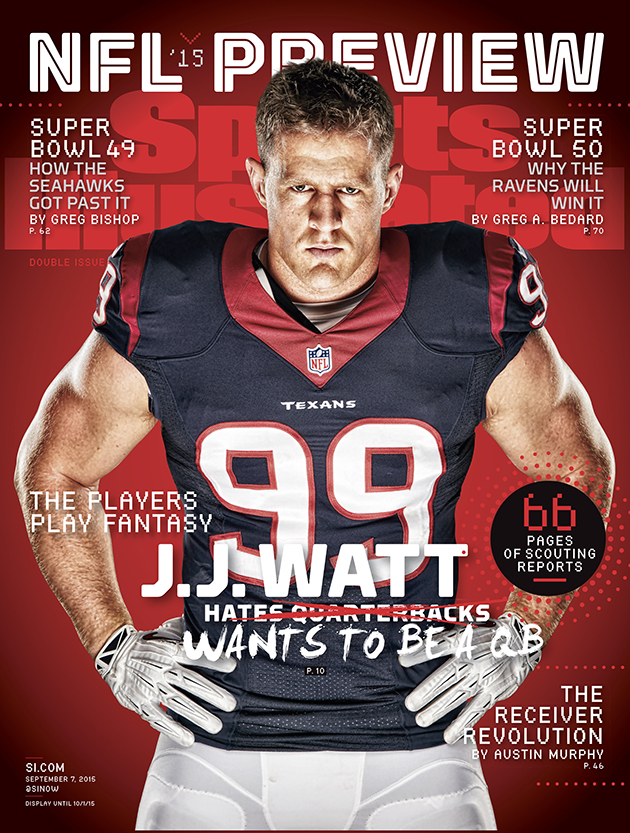 JJ Watt Houston Texans SI cover