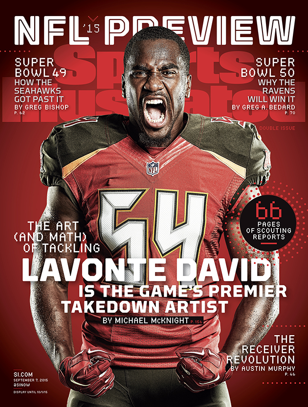Lavonte David Tampa Bay Buccaneers SI cover