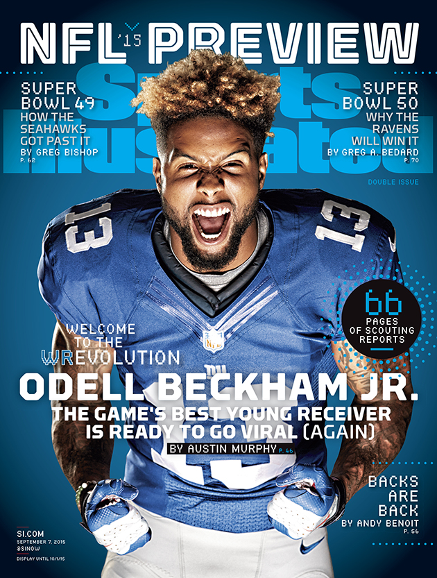 Odell Beckham Jr. New York Giants SI cover