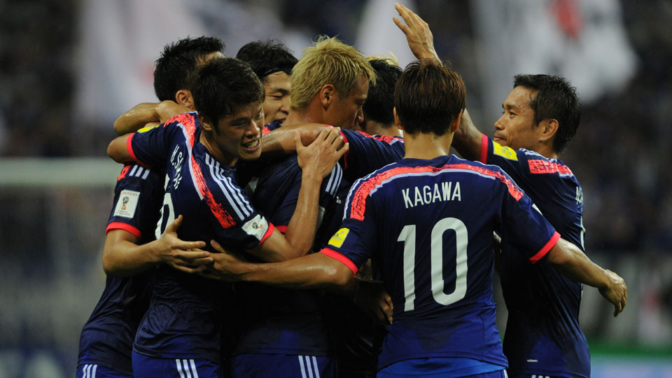 Japan routs Cambodia in a 2018 World Cup qualifier