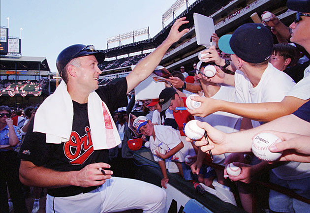 By obliging fans who yearned for his autograph, Cal Ripken helped bring baseball back from the 1994-95 player's strike.