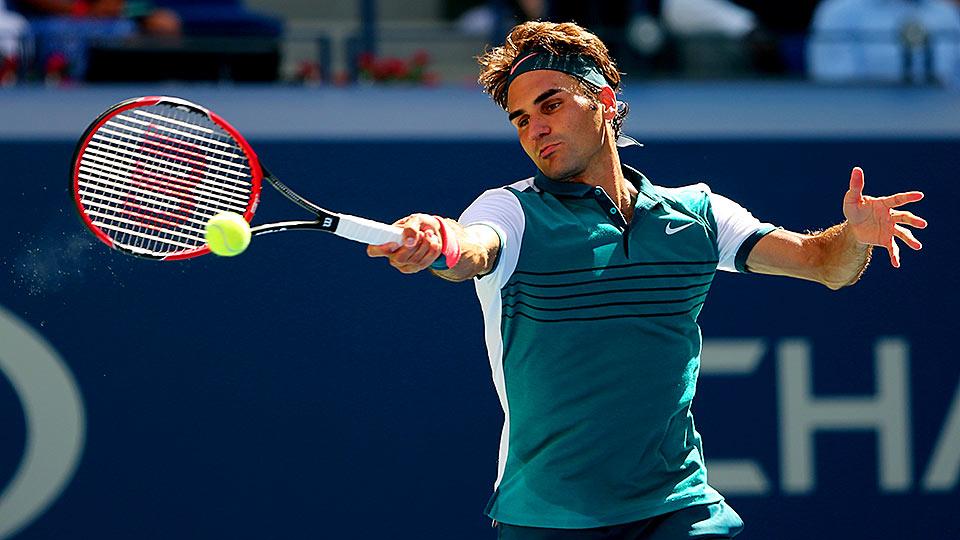 Roger Federer U.S. Open