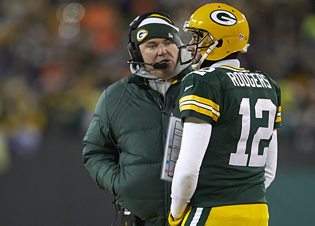 Over nine seasons together, McCarthy has helped build Rodgers into the NFL's best. (Tom Lynn /Sports Illustrated)