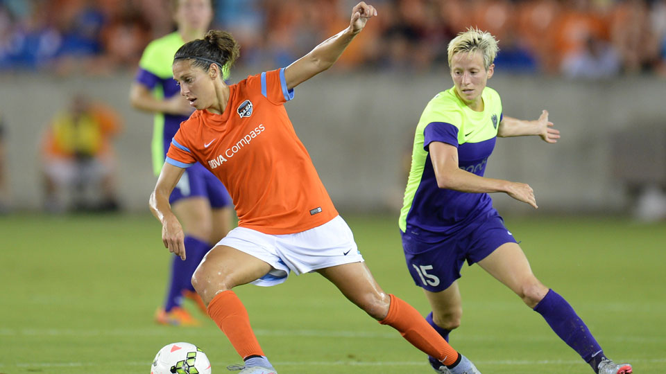 Carli Lloyd, Megan Rapinoe play in NWSL