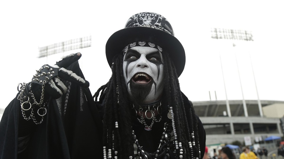 Think you could survive a season with Raiders Nation?