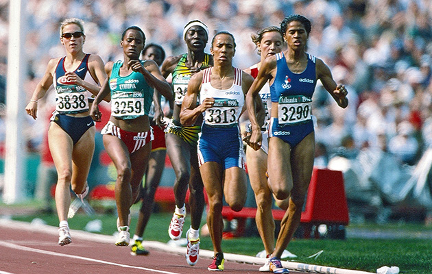 Suzy Favor Hamilton Olympics