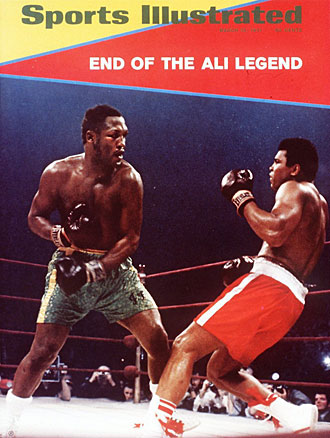 Even when Frazier won the heavyweight title in 1971, the bigger news was that Muhammad Ali had lost.