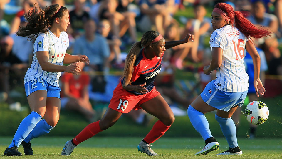Crystal Dunn leads the Washington Spirit in the NWSL playoffs