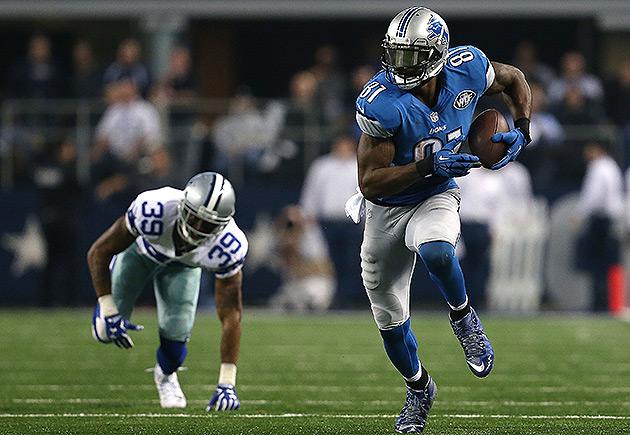 Detroit Lions Calvin Johnson Week 1