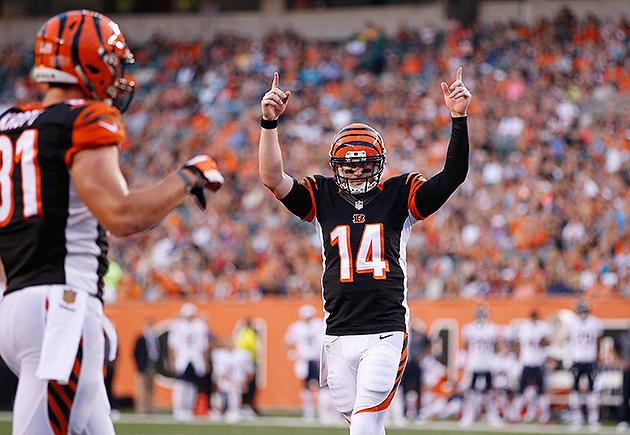 Cincinnati Bengals Andy Dalton Week 1