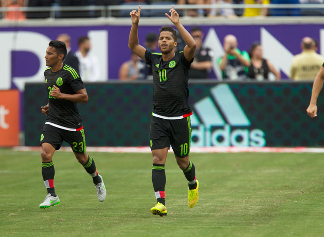 Giovani dos Santos is on Mexico's preliminary CONCACAF Cup roster after being left out of the September friendlies.