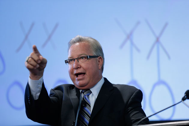 Ron Jaworski has built a chain of golf courses