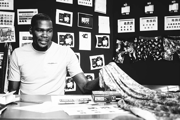 Kevin Durant, Neff unveiled a new underwear line.