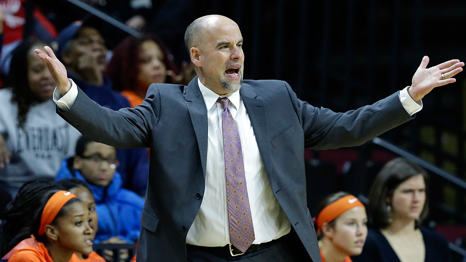 Illinois chose to retain coach Matt Bollant (above) but bought out associate coach Mike Divilbiss after players accused them of verbal abuse.