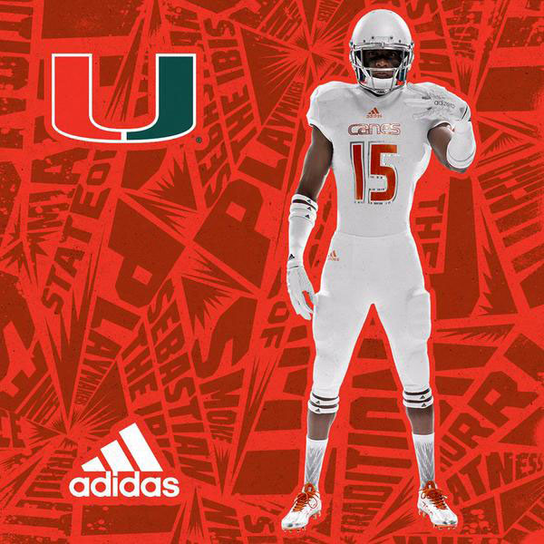 miami football 305 ice uniforms adidas alternates cincinnati full
