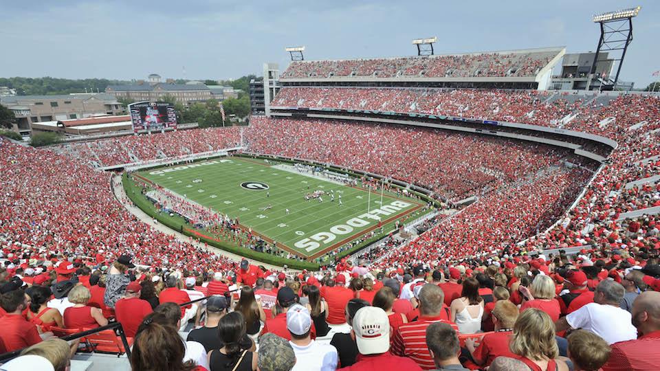Alabama Vs Georgia Players Separated By Refs Pregame