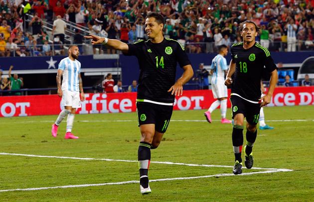 """Javier """"Chicharito"""" Hernandez leads Mexico vs. the USA"""