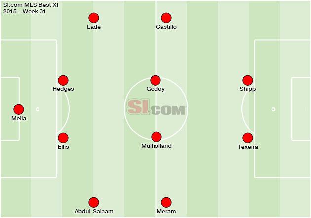 MLS Best XI Week 31