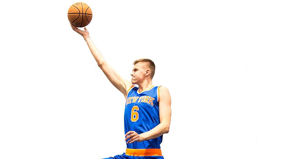 NBA rookie: Karl Anthony-Towns, Kristaps Porzingis talk playlist