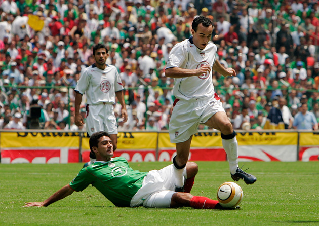 Landon Donovan vs. Mexico for the USA at Estadio Azteca, 2005