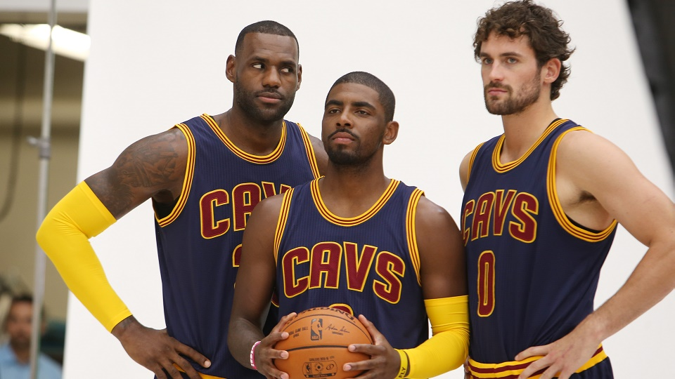 LeBron James and the Cavaliers are a huge favorite in the East