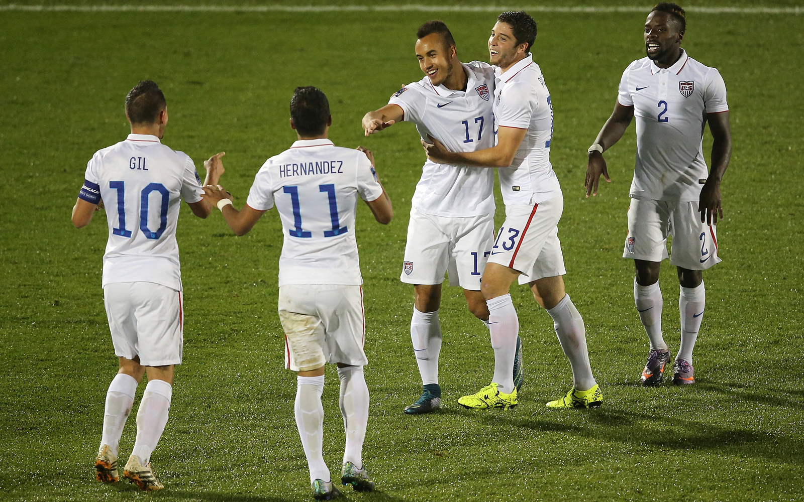 There was plenty of credit to go around, as the Americans finished off a perfect group run in Olympic qualifying with a 4-0 win over Panama. Jordan Morris and Jerome Kiesewetter came on at halftime and provided the spark needed to seize the three points.