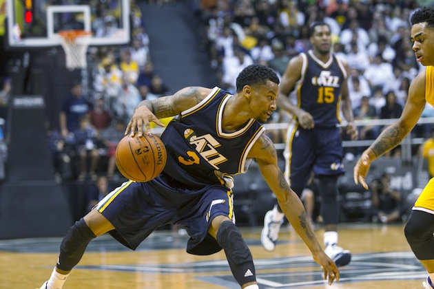 With Dante Exum out for the season, can Trey Burke hold the fort in the backcourt for the Utah Jazz?