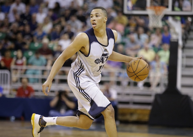 The loss of Dante Exum looms large for the Utah Jazz.