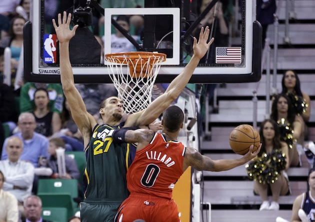 The emergence of Rudy Gobert as a rim protector paid huge dividends for the Utah Jazz.
