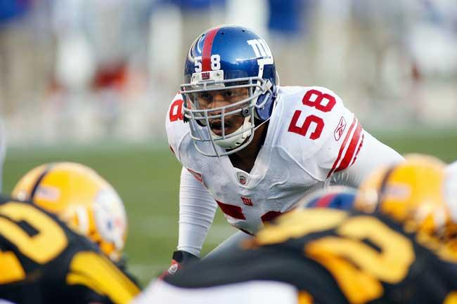Former New York Giants middle linebacker Antonio Pierce.