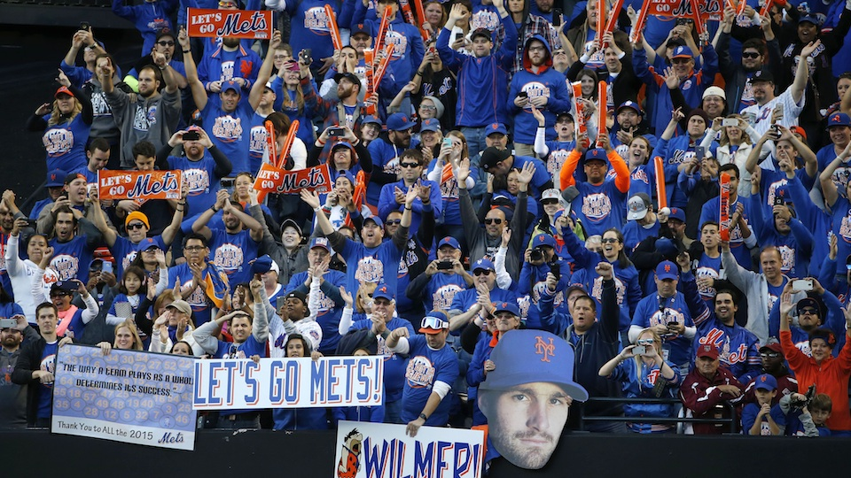 New York Mets fans have been waiting years to be back in the MLB postseason.