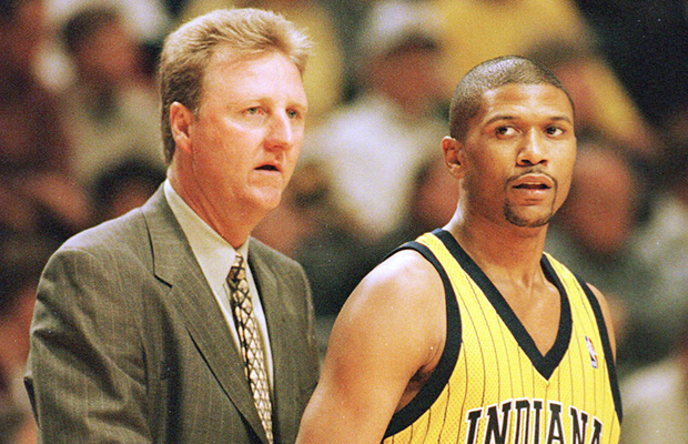 Jalen Rose played three seasons under Larry Bird with the Indiana Pacers.