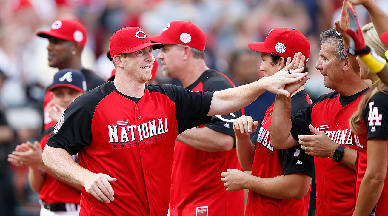 Andy Dalton was booed by the Cincinnati crowd at the celebrity softball game during MLB's All-Star weekend in July.