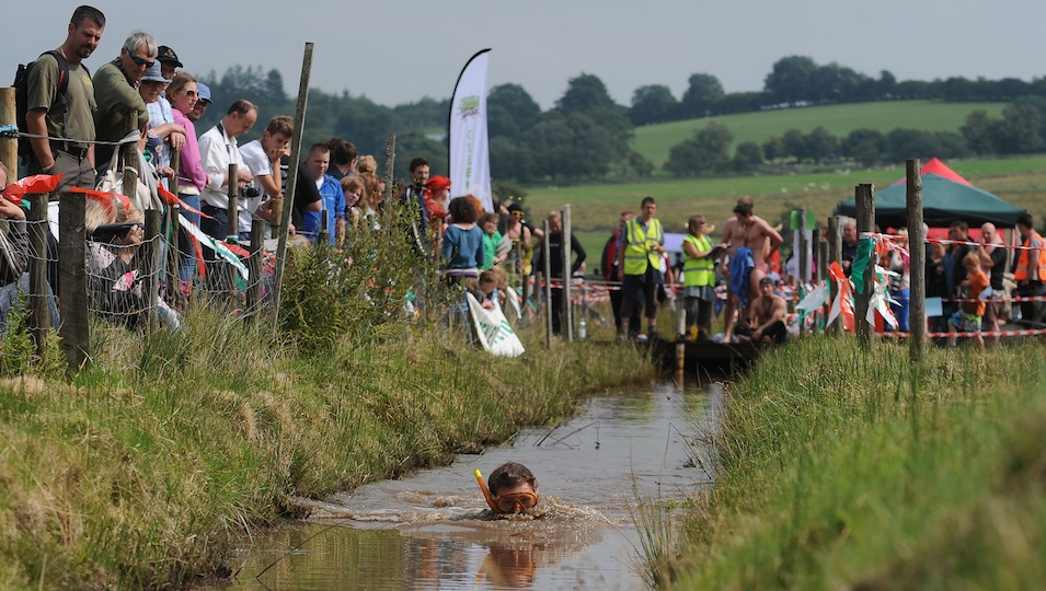 Checking Out The World Bog Snorkelling Championships In Wales