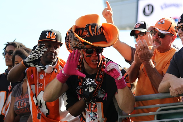 Despite their heartbreaking history, Cincinnati Bengals fans have been nothing if not loyal.