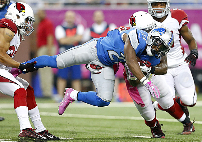 Rookie Ameer Abdullah, yet another skill position player selected high in the draft by Detroit, continued to disappoint against the Cardinals.