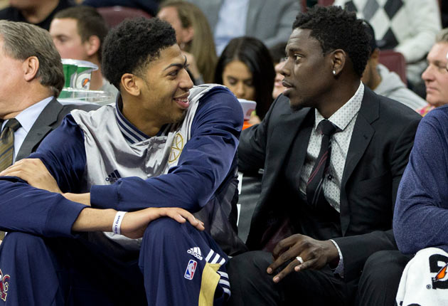 Anthony Davis; Jrue Holiday