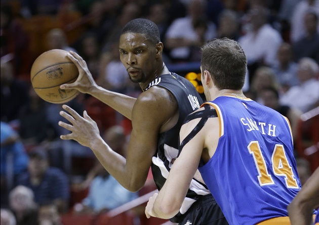 Chris Bosh is the Miami Heat's most important player in 2015-16