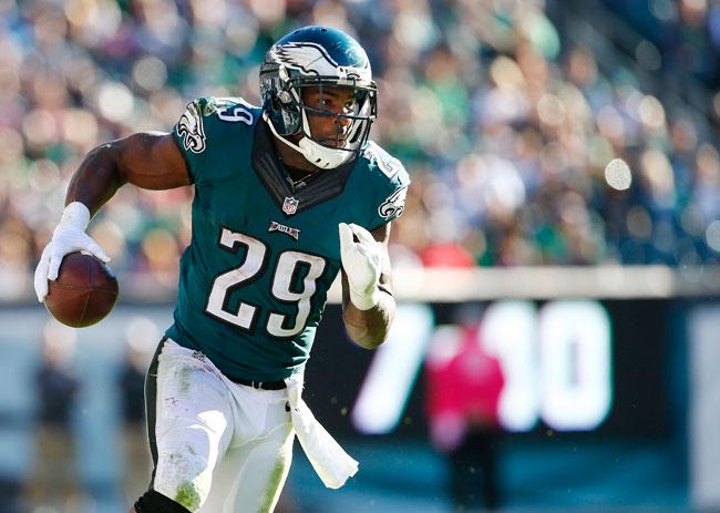Philadelphia Eagles running back DeMarco Murray.