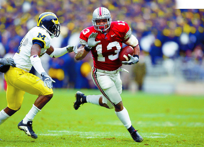 Maurice Clarett, a man among boys while starring at Ohio State, briefly overturned the NFL's minimum age requirement in 2004.